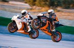 KTM RC8 R 2011 Action